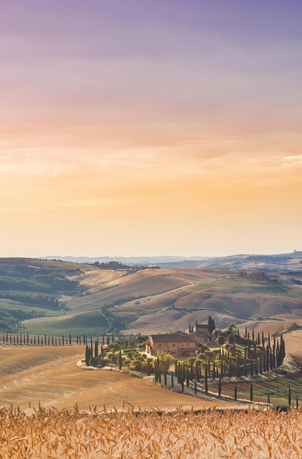 Una villa in Toscana