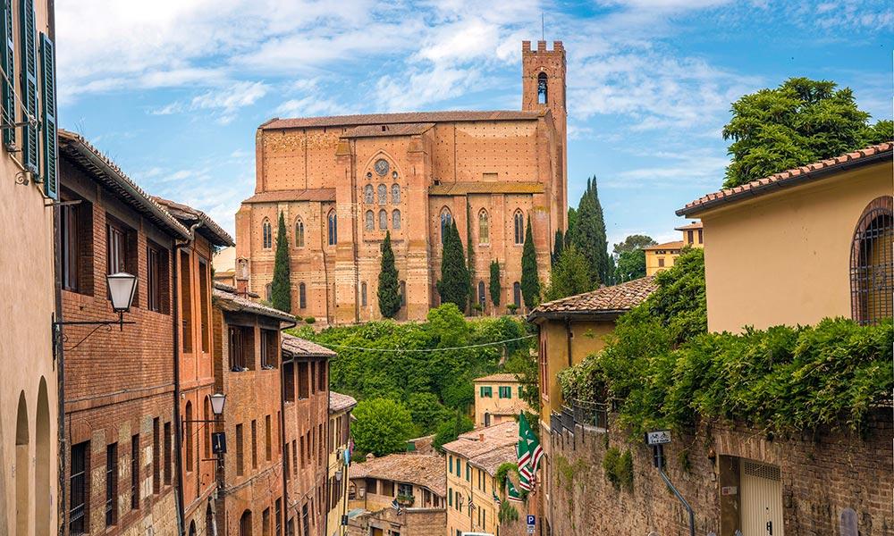 San Domenico church, Siena